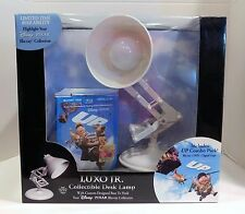 LUXO, JR. Lamp Gift Set Disney Pixar UP Blu-ray/DVD 2009 4-Disc Set Sealed Box