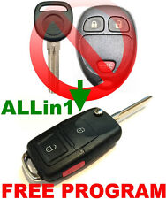 EURO STYLE FLIP KEY REMOTE FOR 07-08 CASILLAC SRX CHIP KEYLESS ENTRY FOB Ouc6027
