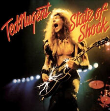 "12"" Ted Nugent State Of Shock (Alone, I Want To Tell You) 70`s CBS Epic"