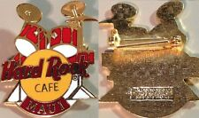 Hard Rock Cafe MAUI HAWAII 1990's Red DRUM Kit PIN Catalog #5360 GCT Grid Back