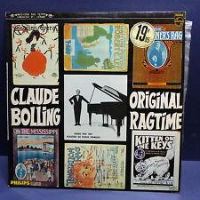 CLAUDE BOLLING Original ragtime P70341L dédicacé derriere