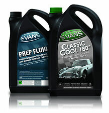 EVANS TWIN PACK; WATERLESS CLASSIC COOLANT 180 & PREP FLUID 5 LITRE MGB