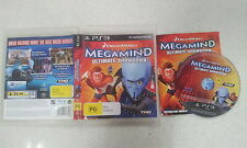 Dreamworks Megamind Ultimate Showdown Sony PS3 Game