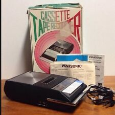 Vintage PANASONIC RQ 209S SLIM LINE PORTABLE CASSETTE Tape Recorder FOR REPAIR