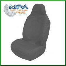 UNIVERSAL HEAVY DUTY FRONT SEAT COVER FOR JCB, KOMATSU, HITACHI CAT (GREY)