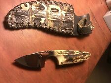 Dick Atkinson Skinner Trout/Bird Knife X marked Early STAG Custom Made Prototype