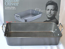 Tefal Jamie Oliver Carbon Steel ROSTER 26 X 38 CM BAKING TRAY