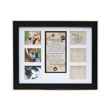 Pet Memorial Frame Cat Dog Gift Picture Poem Collage Photos Personalize Plaque