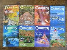 Lot of 8 Country Magazine Back Issues 2009-2011