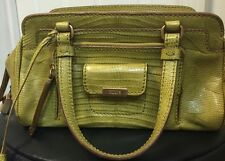 Authentic Tod's Green Exotic Allegator Crocodile Bag $4900