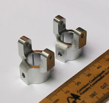 Rock Crawler Silver Aluminium C Hubs/Chubs For RC AXIAL SCX10 Upgrade Carrier