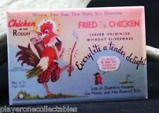 "Chicken in the Rough Vintage Ad 2"" X 3"" Fridge Magnet. Golf Creative Gift!"