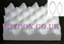 Foam Pad For Drying Sugarcraft Leaves And Flowers and Lily Large Cutter Set