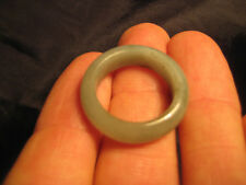 Natural  Grade A  Jadiete  Jade ring stone carving  Size 7  A725