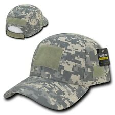 Uni Digital ACU Camo Tactical Operator Contractor Low Crown Patch Cap Hat