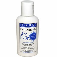 Eco-Dent, ExtraBrite, Tooth Whitener, without Fluoride, Dazzling Mint, 2 oz