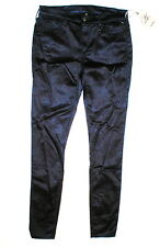 New Womens True Religion Brand Jeans NWT 29 Legging Satin Silky Dark Blue Skinny