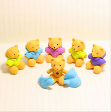 Free Shipping Cute Bear Eraser Funny Animal Design Eraser Wholesale Price