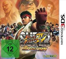 Nintendo 3ds SUPER STREET FIGHTER 4 IV 3d EDITION USATO COME NUOVO