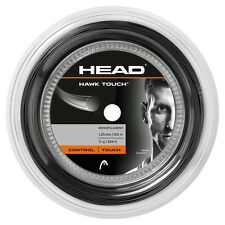 Head Hawk Touch 19 / 1.15mm Tennis String 120m Reel - Dark Grey