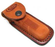 Case XX Brown Leather Folding Knife Sheath Pouch USA
