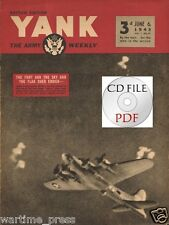 CD File YANK British Edition 1943 Flak Over Emden Kiska Fortress My Lovin' Dove