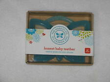 The Honest Company Baby Teether Blue Butterfly New