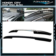 Fit For 07-11 Honda CRV CR-V OE Factory Style Roof Rack Black Side Rail Bar