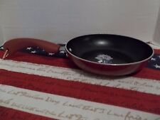 "PAULA DEEN 8"" PAN~  ""RED"" SPECKLE~NEW SKILLET"