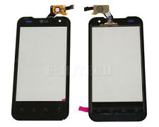 "LG P990 Optimus 2X Black Digitizer Touch Screen Lens Glass Pad  2 II ""UK"" +Tools"