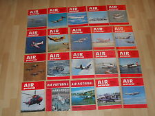 Old Air Pictorial Magazines x 20 Early 1970s Aircraft Aviation Plane Flying