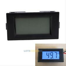 NEW LCD Digital Frequency Panel Meter Tester Gauge 10-199.9Hz AC 80-300V Blue