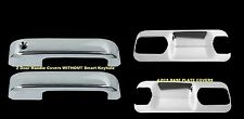 For Ford F-150 15-16 Chrome 2 Doors Handles WITH PLATE BOWL Covers W/O Smart Kh