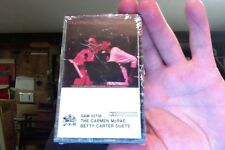 The Carmen McRae-Betty Carter Duets....new cassette!