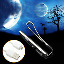 Flashlight Medical Stainless Steel LED Energy-saving Light Torch with USB Cable
