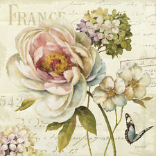 Marche de Fleurs III Art Print by Lisa Audit - 12x12