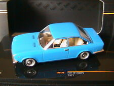 FIAT 124 COUPE 1971 BLUE IXO CLC170 1/43 BLAU BLEU MODELS MODEL DIE CAST