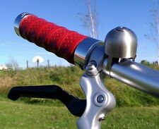 Brompton Birdy Mini Velo MTB Bicycle Wrapped Leather Grips (SOBDEALL)