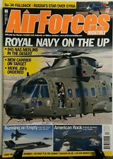 Air Forces Monthly Dec 2015 Royal Navy On The Up Nas Merlins FREE SHIPPING sb