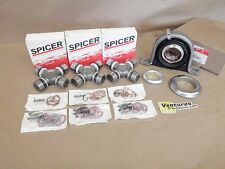 CARRIER SUPORT BEARING HD 1410 SPICER U JOINT KIT FORD F250 F350 2WD REAR