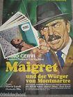 Maigret und der Würger von Montmartre -24 FOTOS + PLAKAT A1- EUROCRIME Pigalle