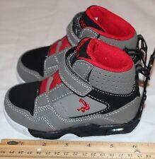 Shaq Boys-toddler Athletics Tennis Shoes Sz. 8 Grey Black Red ...