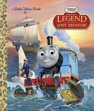 Sodor's Legend of the Lost Treasure Thomas & Friends Little Golden Book