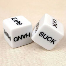 Adult Love Erotic Game Dice Sexy Romance Bachelor Party Novelty Toy 1 Pair OZ AU