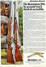 1977 Print Ad of Remington Reports Model 700 BDL Custom Deluxe & Varmint Special