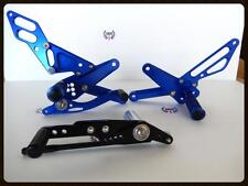 Billet Rear Sets Rearsets Foot Peg Pedal for Yamaha YZFR1 R1 2009-2014 Blue