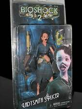 BIOSHOCK 2 LADYSMITH SPLICER ACTION FIGURE PLAYER SELECT NECA NUOVO ED ITALIANA