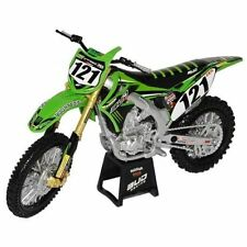 New Ray 1:12 Xavier Boog Bud Kawasaki KXF 450 Die Cast Toy Model Motocross Green