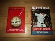 2 Baseball Steroid Books American Icon Roger Clemens AND Jose Canseco Vindicated