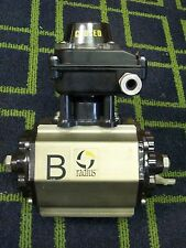 RADIUS VALVE ACTUATOR 120 PSIG , AD-012 with LIMIT SWITCH BOX model ES-900